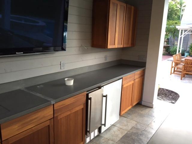 outdoor kitchen doors
