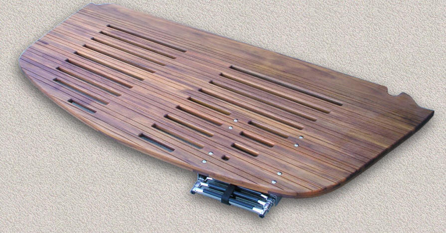 Teak Swim Dive Platforms Custom Teak Marine Woodwork